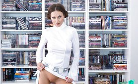 Teenage Fantasy with Leia Organa