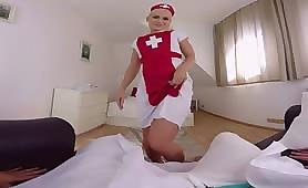 Nurse Needs to Drain Your Cock