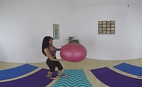 VR XXX Yoga Was Never This Sticky