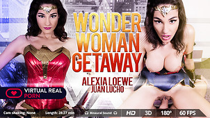 Wonder Woman Needs a Sticky Cum Load
