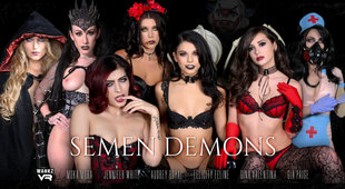 Demonic Sluts Need Help from Devil for VR XXX Orgy