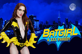 Batgirl Crosses Species to Fuck a Hung Robin