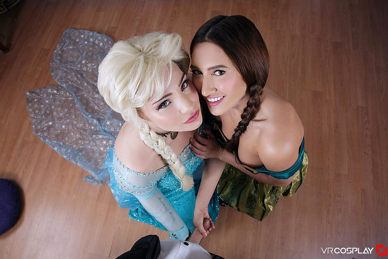 Ana and Elsa Let It Go All Over Your Cock - Videos | SEXVR.COM