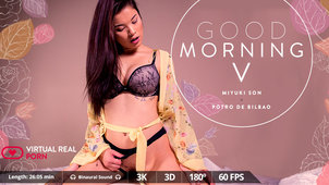 Miyuki Son Introduces you to Morning VR XXX Fucking