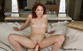 Sexy Redhead Needs you to Douse her Fire Bush