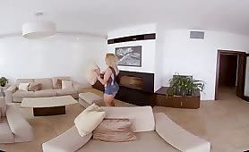 New VR Roomate Pays In Pussy