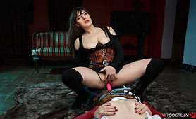 VR Cosplay get Triss and Yen naked and Horny