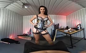 German MILF likes VR Domination