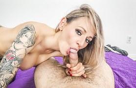 Natasha Starr Needs the VR Porn Treatment while Husband's Away