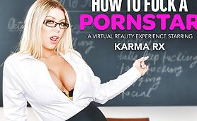 Karma RX Teaches You How to Treat a Porn Star