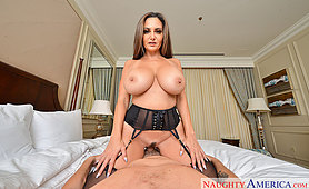 VR Porn Star Ava Addams is Ready to See You