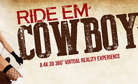 Put on Cowboy Boots and Poke a Cowgirl in VR