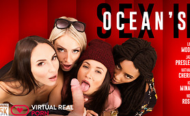 Have an Orgy before the Ocean's 8 VR Parody Heist