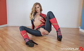 Captain Marvel Gets Skrull Fucked For a VR Porn Parody