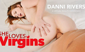 VR Porn Star Danni Rivers Steals Your Virginity With Delight