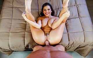 Keisha Grey is hot and horny for you after her yoga session