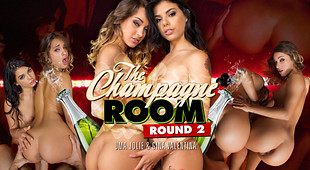 Uma and Gina Fuck You in the Champagne Room