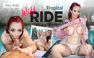 Mary Rider give a VR Strip Tease you'll Never Forget