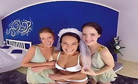 Naughty Bride with Friends
