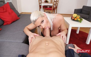 German Girl Needs Your Sausage in Her Mouth