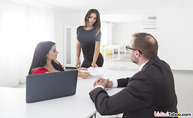 Boss's Daughter Sucks your Cock at VR Porn Job Interview